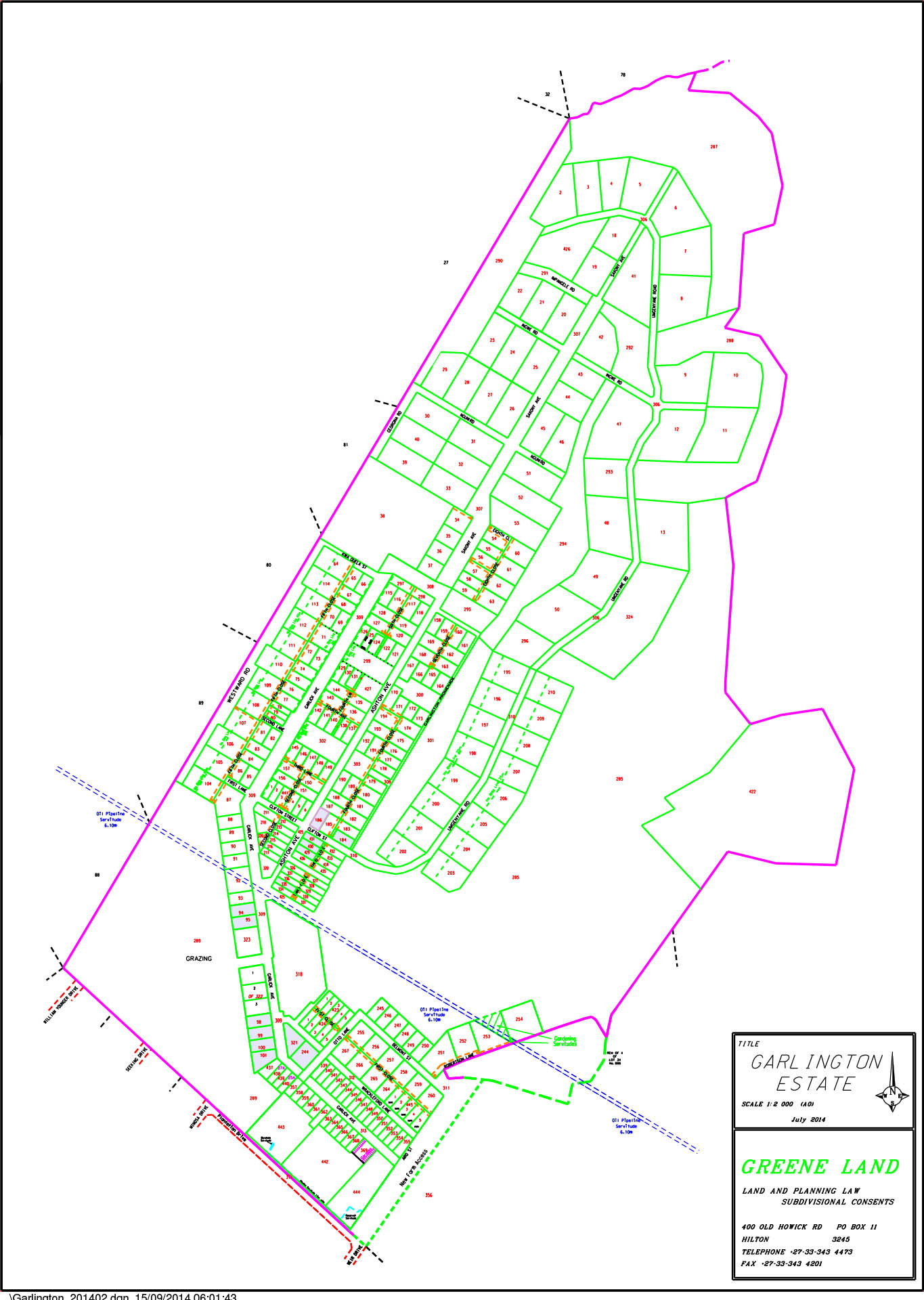 map-layout-garlington-estate-equipment-luxury-country-development-hilton-midlands-meander-kzn