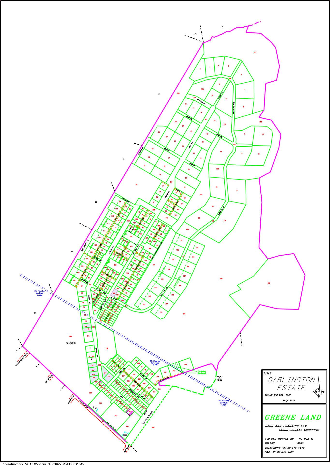 map-layout-garlington-estate-equipment-luxury-country-development-hilton-midlands-meander-kzn